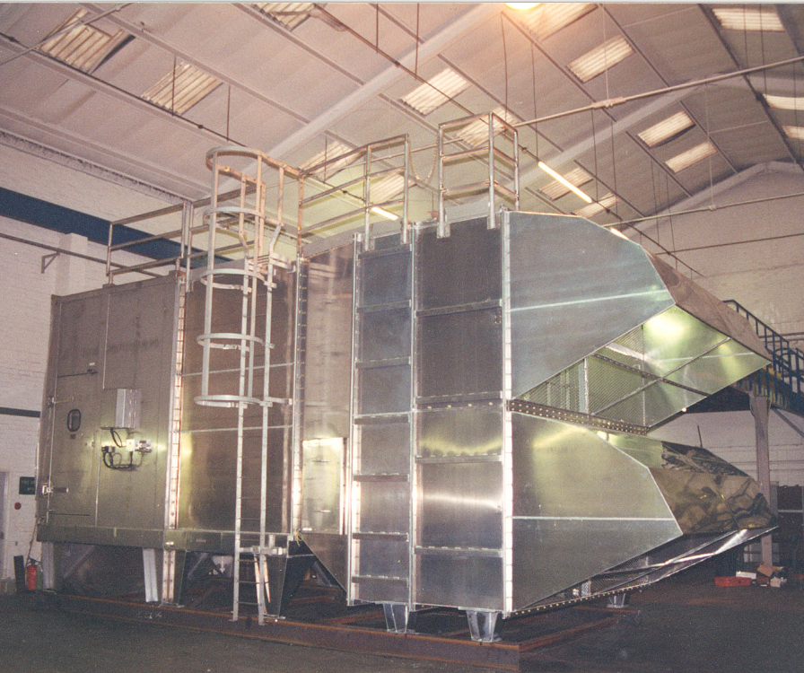 Filter house for gas turbine